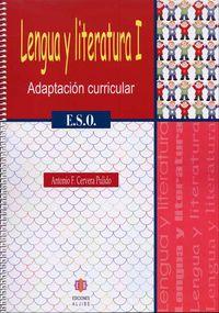 Eso 1 - Lengua Y Literatura - Adaptacion Curricular - Antonio F. Cervera Pulido