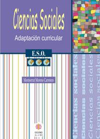 ESO 3 - CIENCIAS SOCIALES - ADAPTACION CURRICULAR