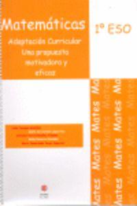 Eso 1 - Matematicas - Adaptacion Curricular - Lidia Paniagia Gonzalez