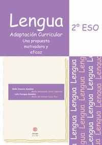 Eso 2 - Lengua - Adaptacion Curricular - Belen Navarro Gonzalez