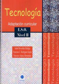 ESO 2 - TECNOLOGIA - ADAPTACION CURRICULAR