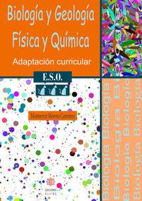 Eso 3 - Biologia Y Geologia / Fisica Y Quimica - Adaptacion Curricular - Montserrat Moreno Carretero