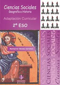 ESO 2 - CIENCIAS SOCIALES - ADAPTACION CURRICULAR