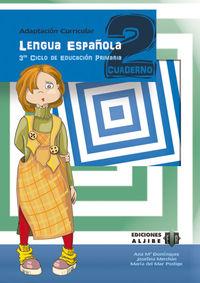Ep 5 / 6 - Lengua Cuad. 2 - Adaptacion Curricular - Aa. Vv.