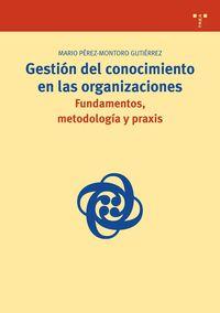 Gestion Del Conocimiento En Las Organizaciones - M. Perez-montoro Gutierrez