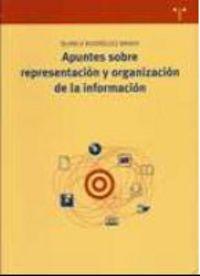 Apuntes Sobre Reprensentacion Y Organizacion De La Informacion - Blanca Rodriguez Bravo