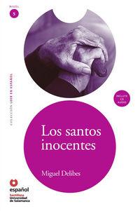 Los  santos inocentes (+cd) - Miguel Delibes