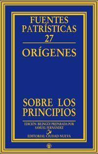 FUENTES PATRISTICAS 27 - ORIGENES