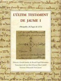 L'ULTIM TESTAMENT DE JAUME I