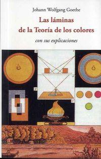 Las laminas de la teoria de los colores - Johann Wolfgang Goethe