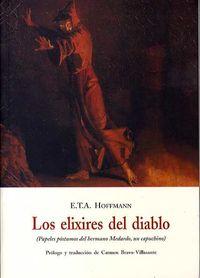 El elixires del diablo - E. T. A. Hoffmann