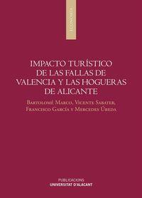 Impacto Turistico De Las Fallas De Valencia Y Las Hogueras De Alicante - Bartolome Marco Lajara / Vicente Sabater Sempere / [ET AL. ]