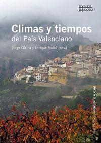 CLIMAS Y TIEMPOS DEL PAIS VALENCIANO