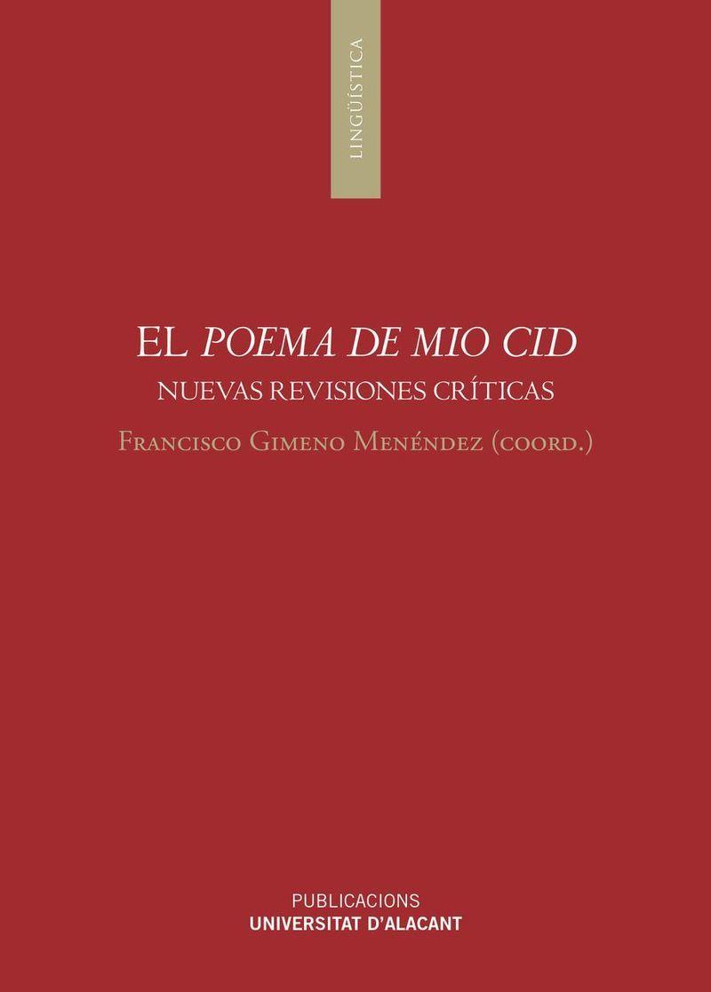 EL POEMA DE MIO CID - NUEVAS REVISIONES CRITICAS