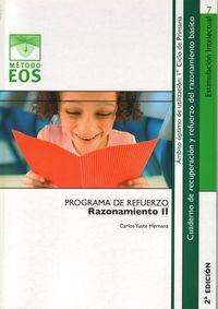 Ep 1 / 2 - Razonamiento Ii - Programa De Refuerzo - Carlos Yuste Hernanz