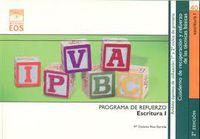 Escritura I - Programa De Refuerzo - Mª Dolores Rius Estrada