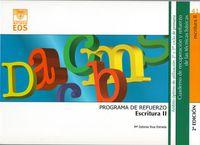 Escritura Ii - Programa De Refuerzo - Mª Dolores Rius Estrada