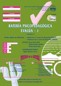 BATERIA PSICOPEDAGOGICA (10 CUADERNOS)
