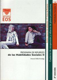 Programa Refuerzo Habilidades Sociales Ii - Antonio Valles Arandiga