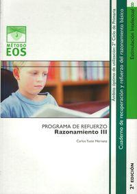 Ep 3 / 4  - Razonamiento Iii - Carlos Yuste Hernanz