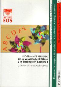 El Ritmo Y La Entonacion I programa de refuerzo de la velocidad - J.            Garcia  /  D.   Gonzalez  /  J. A.  Herrera