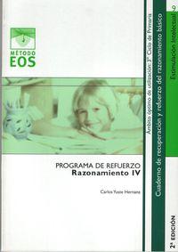 Programas De Refuerzo Del Razonamiento Iv - Carlos Yuste Hernanz