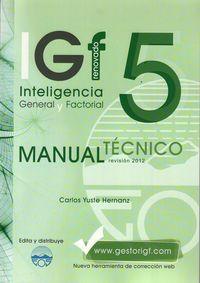 igf-5r manual tecnico - Carlos Yuste Herranz