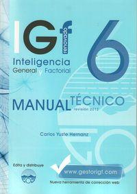 igf-6r manual tecnico - Carlos Yuste Herranz