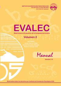 EVALEC 4 - MANUAL VOL.1 - BATERIA EVALUACION COMPETENCIA LECTORA