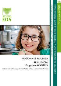 Avante Iii - Programa De Refuerzo - Resiliencia - Antonio Valles Arandiga / Consol Valles Tortosa / Alfred Valles Tortosa