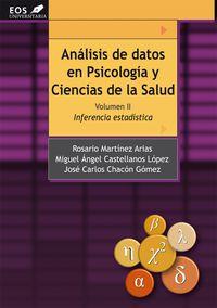 ANALISIS DE DATOS EN PSICOLOGIA Y CIENCIAS DE LA SALUD II - INFERENCIA ESTADISTICA