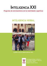 INTELIGENCIA VERBAL - INTELIGENCIA XXI - PROGRAMA DE ENTRENAMIENTO DE LAS HABILIDADES COGNITIVAS
