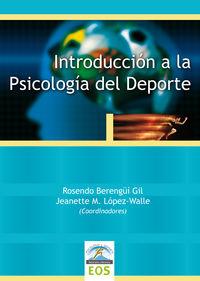 INTRODUCCION A LA PSICOLOGIA DEL DEPORTE