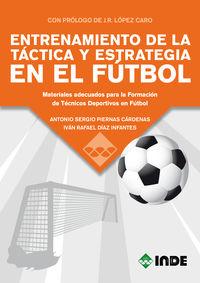 ENTRENAMIENTO DE LA TACTICA Y ESTRATEGIA EN EL FUTBOL - MATERIALES ADECUADOS PARA LA FORMACION DE TECNICOS DEPORTIVOS EN FUTBOL