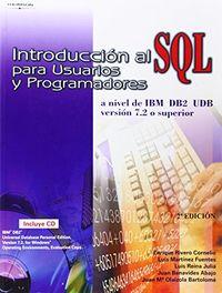 INTRODUCCION AL SQL PARA USUARIOS Y PROGRAMADORES
