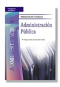 Administracion Publica (administracion Y Finanzas) - Mª Amparo De La Encarna Gabin