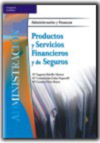 Productos Y Servicios Financieros Y De Seguros (azul) - Mª Eugenia Bahillo Marcos