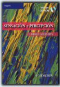 Sensacion Percepcion (+cd) - E. Bruce Goldstein