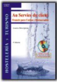 FRANCES PARA COCINA Y RESTAURACION (+CD) - AU SERVICE DU CLIENT