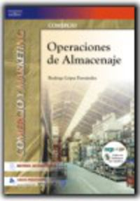 Gm - Operaciones De Almacenaje (+cd)  (logse)  - Comercio Y Marketing - Rodrigo Lopez Fernandez