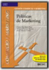 Gs - Politicas De Marketing (logse)  - Gestion Comercial Y Marketing - Gabriel Escribano Ruiz