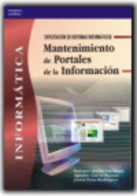 GM / GS - MANTENIMIENTO DE PORTALES DE LA INFORMACION