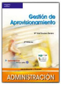 Gm / Gs - Gestion De Aprovisionamiento - M. J. Escudero