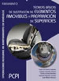PCPI - TECNICAS BASICAS DE SUSTITUCION DE ELEMENTOS AMOVIBLES Y PREPARACION DE SUPERFICIES - OPERACIONES DE MANTENIMIENTO DE VEHICULOS AUTOMOVILES