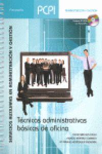 Pcpi - Tecnicas Administrativas Basicas De Oficina - Servicios Auxiliares En Administracion Y Gestion - Oscar Sanchez Estella