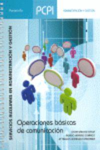 Pcpi - Operaciones Basicas De Comunicacion - Servicios Auxiliares En Administracion Y Gestion - Oscar Sanchez Estella