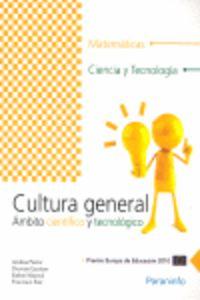 PCPI - CULTURA GENERAL - AMBITO CIENTIFICO-TECNOLOGICO - MATEMATICAS, CIENCIA Y TECNOLOGIA