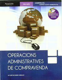 GM - OPERACIONS ADMINISTRATIVES DE COMPRAVENDA