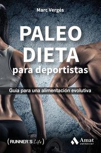 paleo dieta para deportistas - guia para una alimentacion evolutiva - Marc Verges Serra