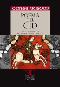 Poema Del Mio Cid - Francisco Lopez Estrada